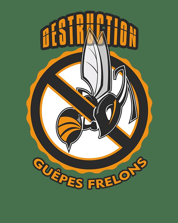 Destruction Frelons et Guêpes Logo